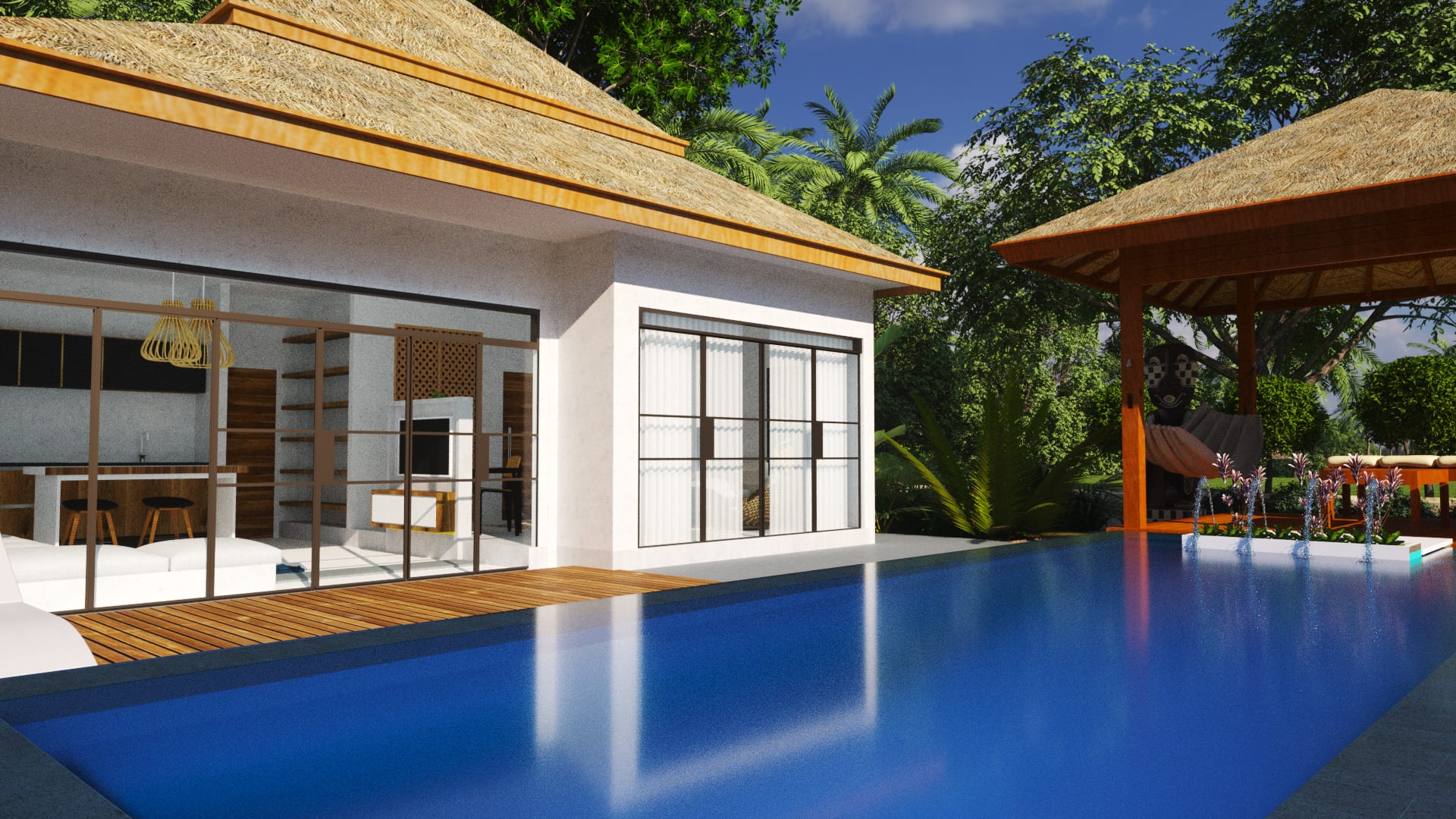 Villa investment in Koh Phangan Thailand