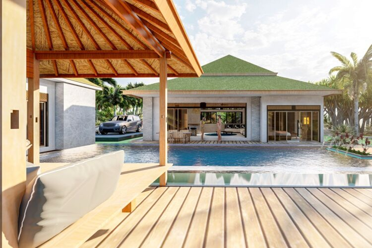 SD138 Balinese Villas Development, Thailand