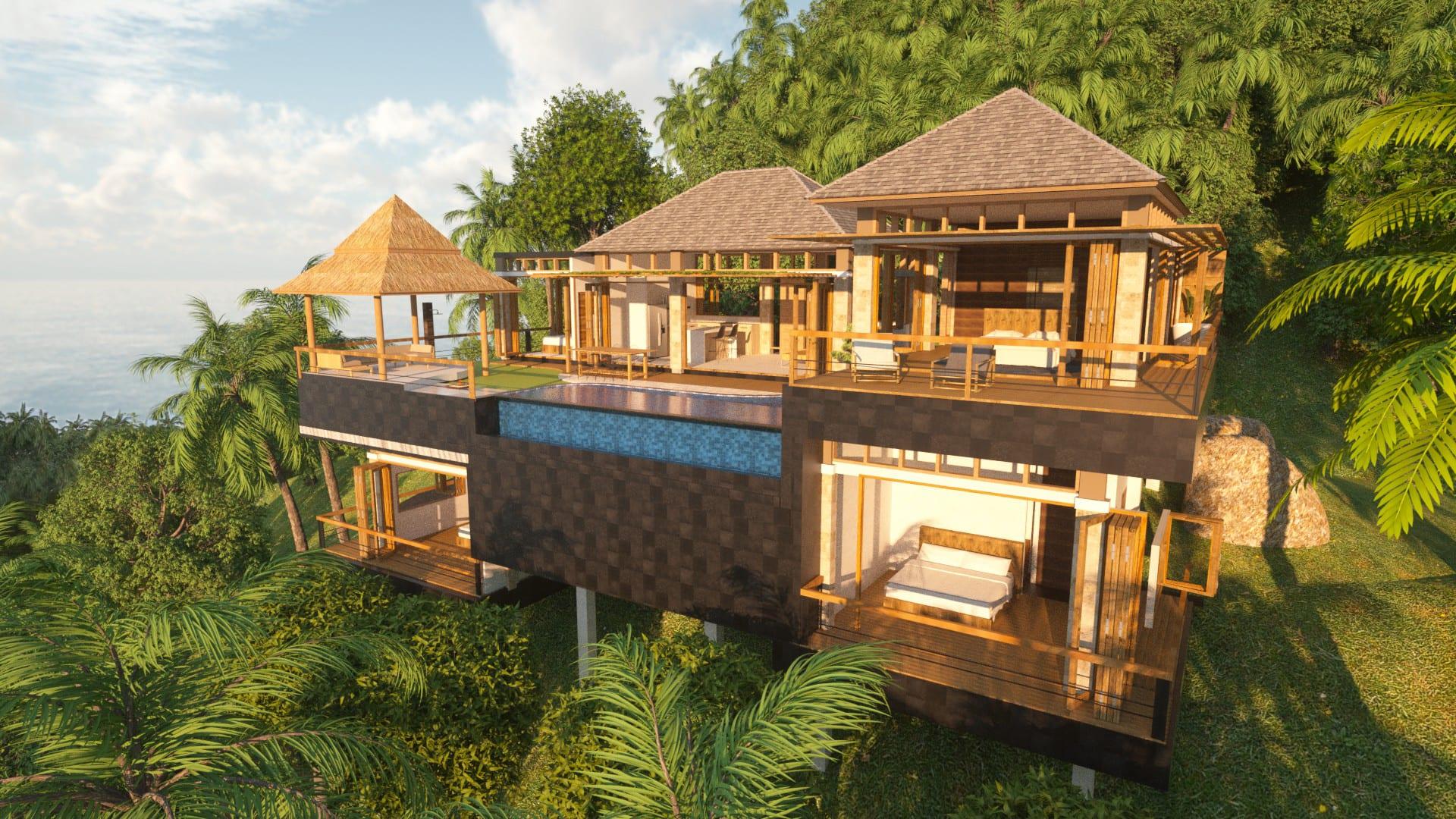 modern thai architecture,